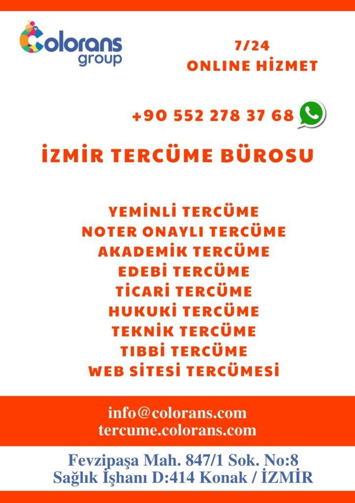 İzmir tercüme bürosu